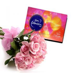 Our Delicious Chocolates Along With Roses is a Great Combination For Sending Your Loving Regards With. Send These Through Shop2AP.