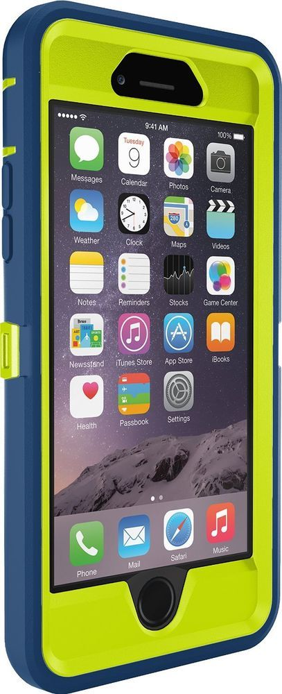 cheap for discount d4fe3 551ca iPhone 6 Case OtterBox Defender Series Belt Clip Holster 4.7 Navy ...