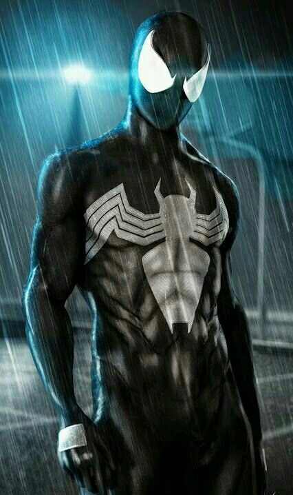 Spider man Black suit I would love to cosplay as this ...