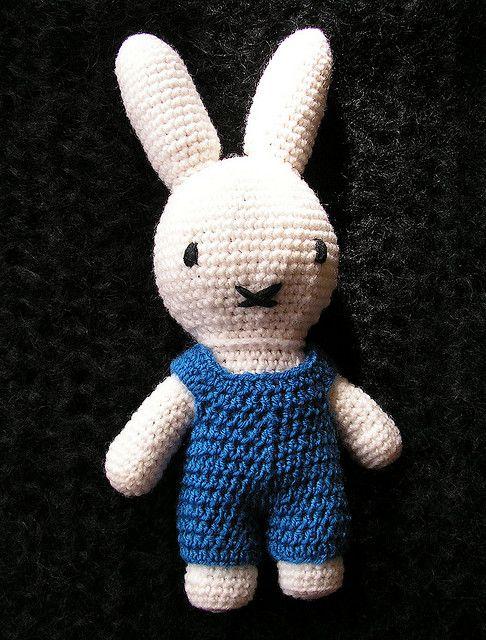 Miffy rabbit free crochet pattern | crochet, knit, sew: toys ...