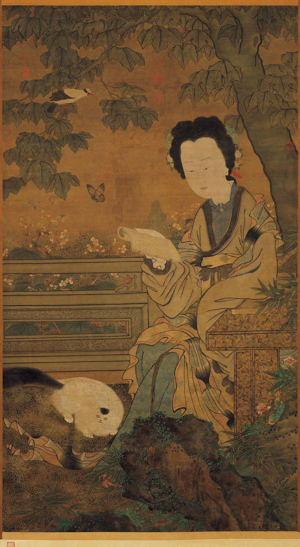 周文矩 仕女图 台北故宫 Peinture Chinoise Peinture Chine