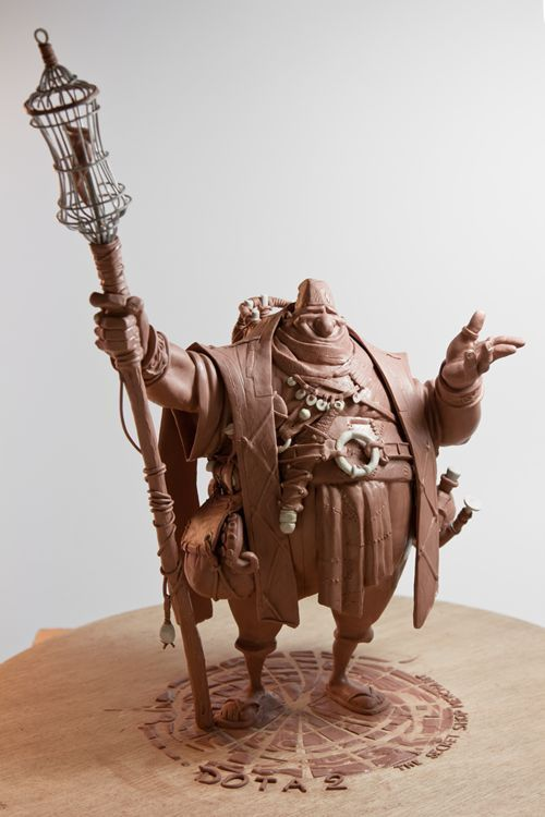 Easy Clay Sculptures : Dota 2 | Figurative sculpture, Sculptures, Sculpture  art