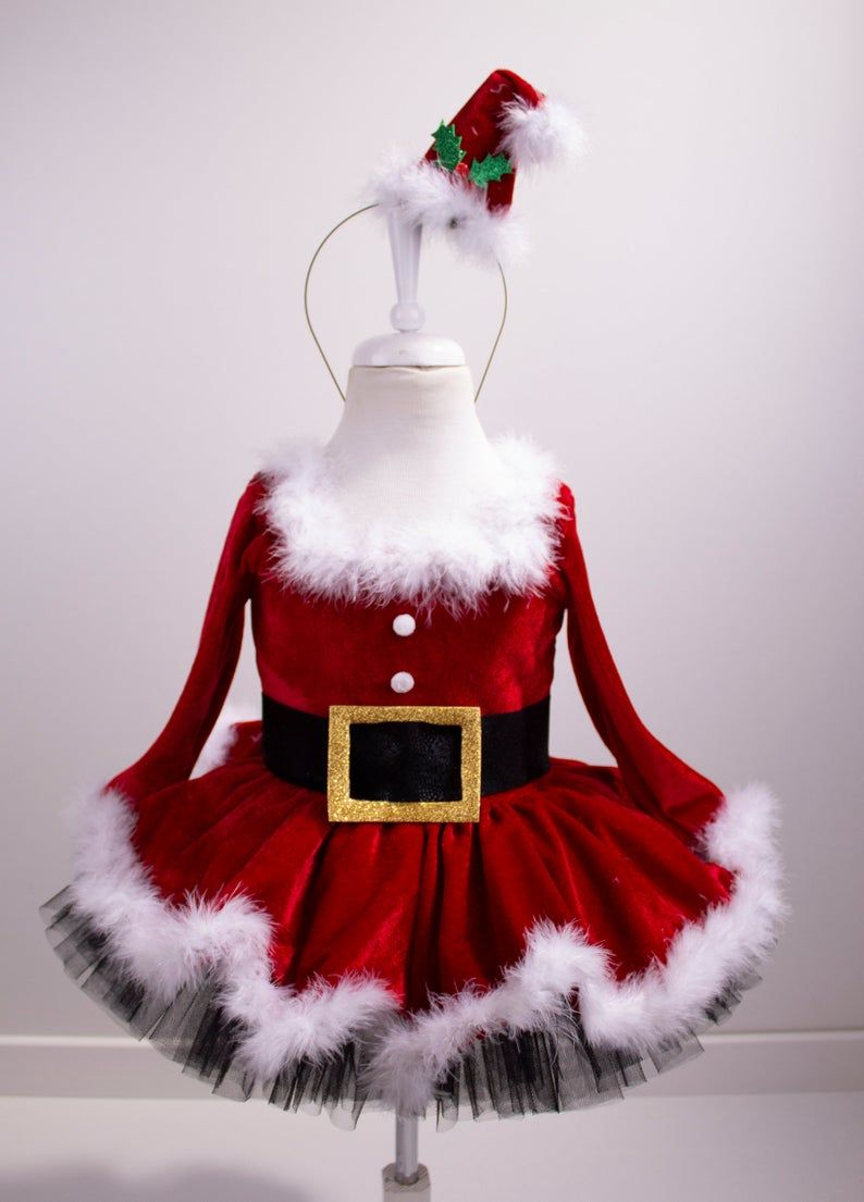 Mrs.Clause  Inspired tutu dress Halloween tutu costume Christmas dress