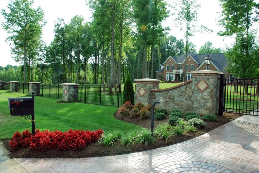 Mailbox landscaping mailbox landscape design lawn and garden pinterest mailbox Home driveway design ideas