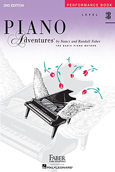 Level 3b Performance Book Piano Adventures By Nancy Faber Faber Piano Adventures Music Book Piano Lessons Group Piano Lessons