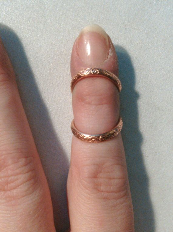 Floral Pattern Copper Ring Splint | Strength, Hypermobility and ...