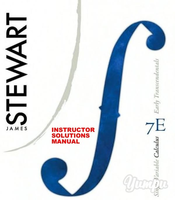 student solutions manual chapters 1 11 for stewart s single rh pinterest com student solutions manual for stewart's single variable calculus early transcendentals 8th student solutions manual single variable for calculus early transcendentals pdf