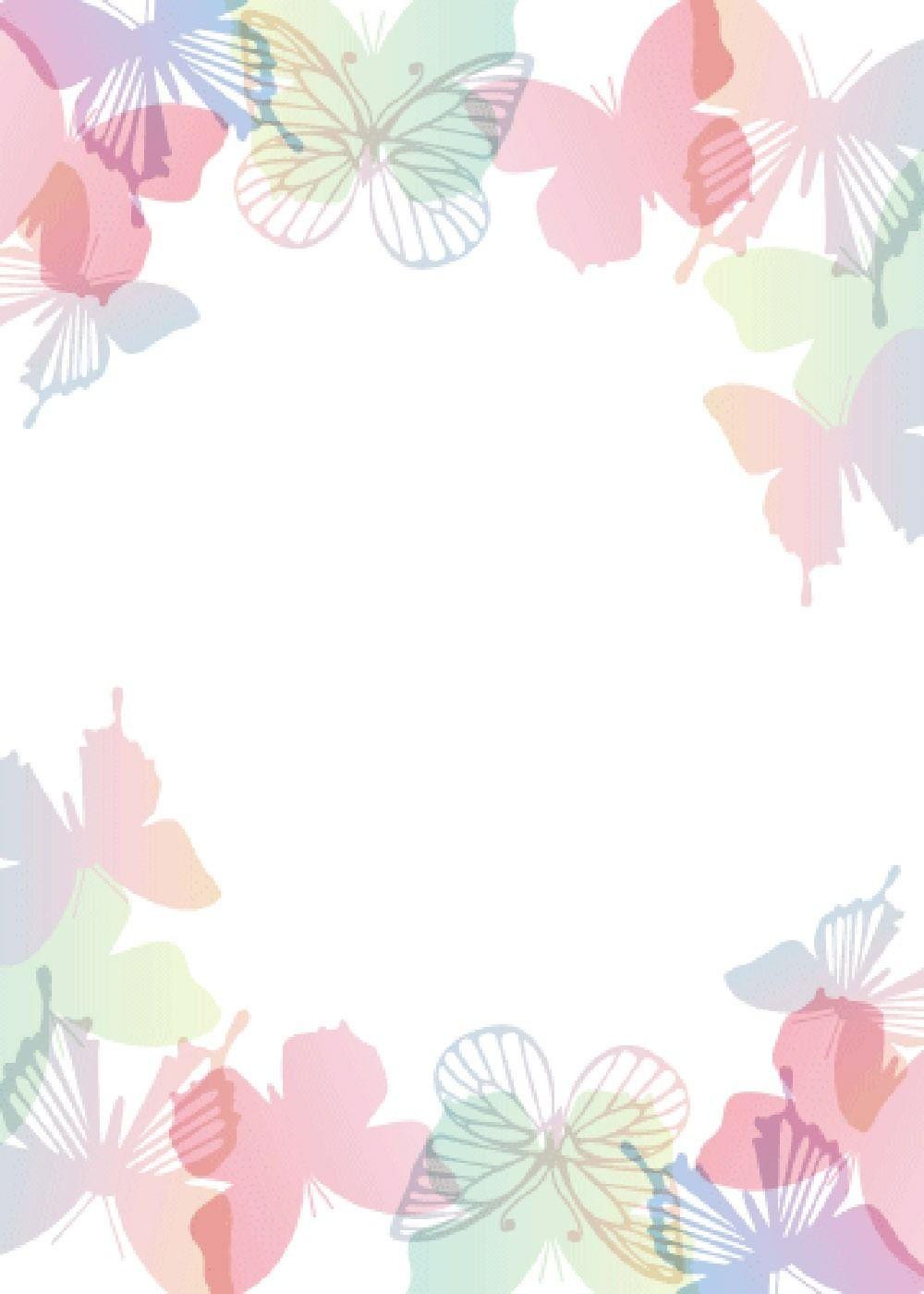 editable butterfly invitation