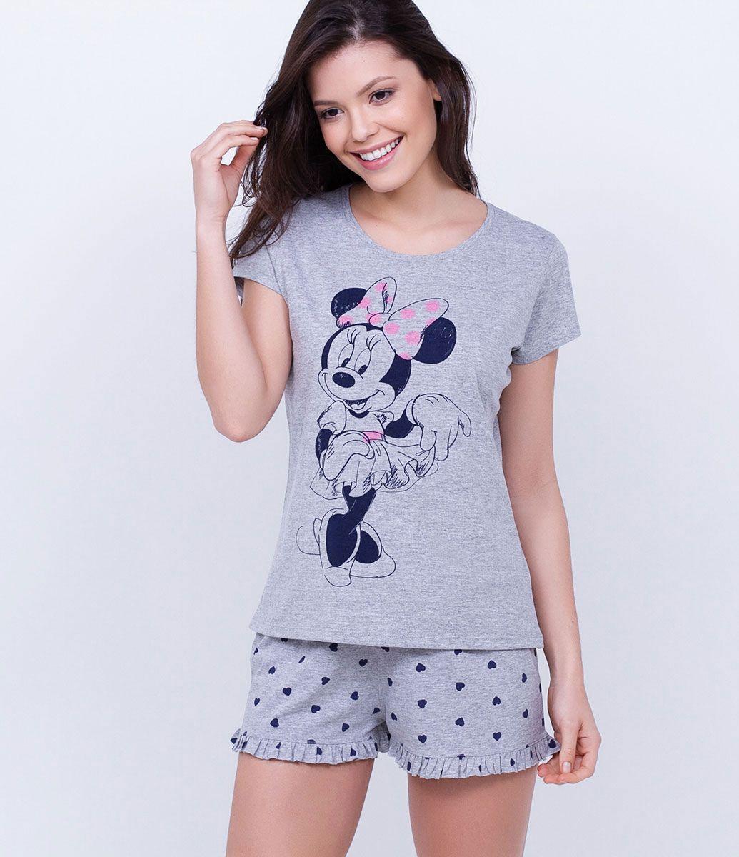 8a57b885be7dca Pijama Short Doll com Estampa Minnie - Lojas Renner | Disney Things ...