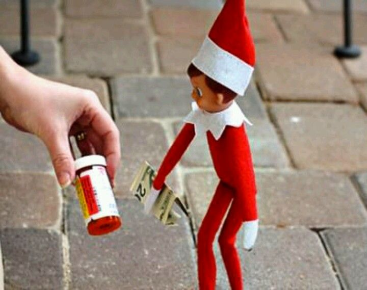 Bad little elf!!