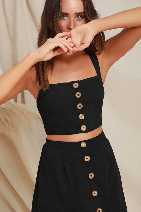 Sweet As Ever Black Two Piece Midi Dress Two Piece Dress Casual Two Piece Dress Piece Dress