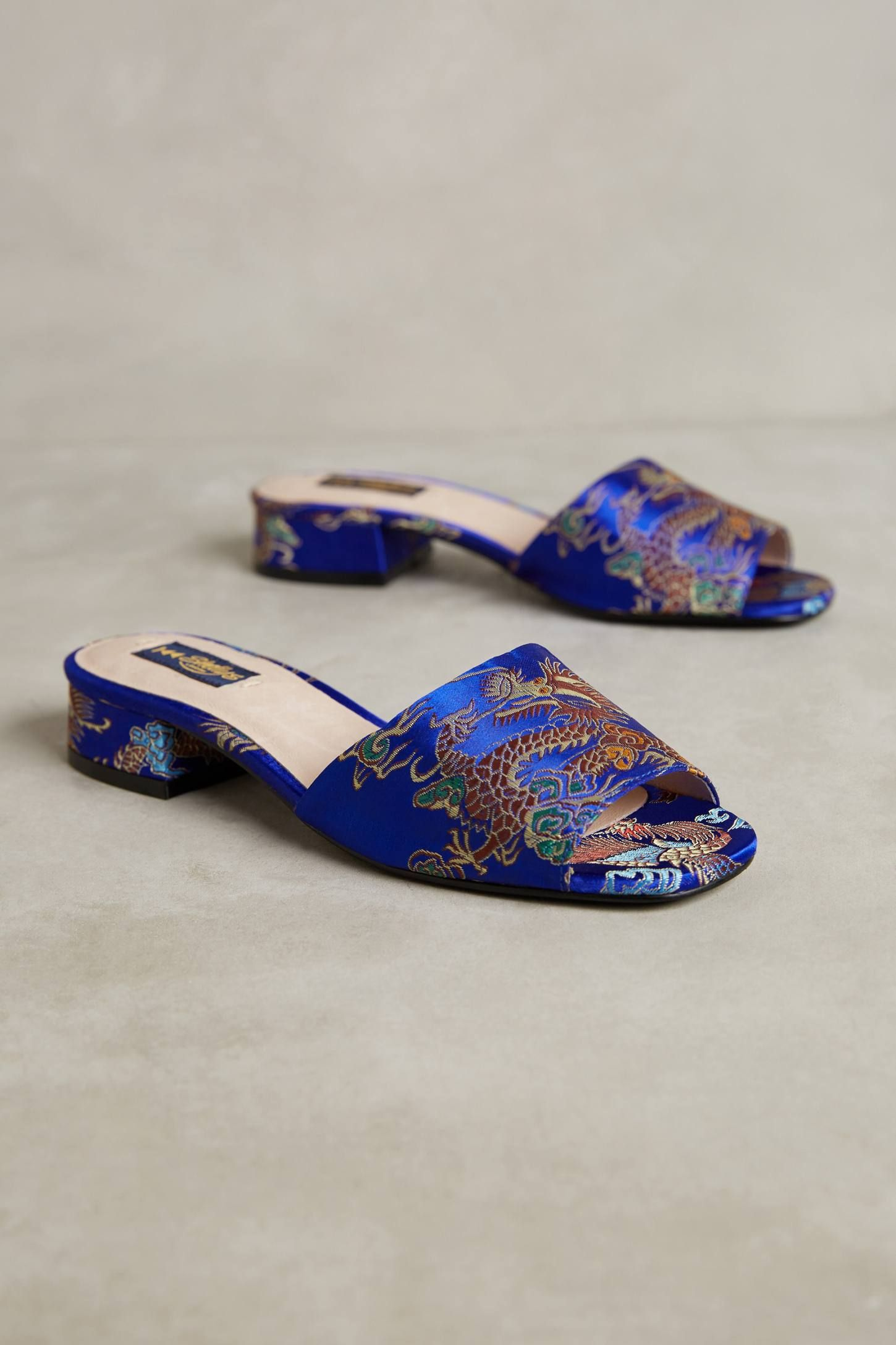 Shop the Shelly's London Brocade Slide Sandals and more Anthropologie at Anthropologie today. Read customer reviews, discover product details and more.