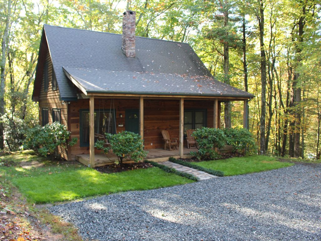 blue grandfather exterior pin cabin and parkway ridge mountain cabins front pinterest cozy