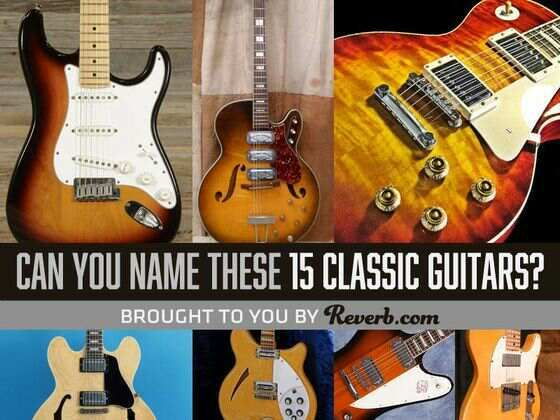 QUIZ: Can You Name These 15 Classic Guitars? - Eye News Entertainment