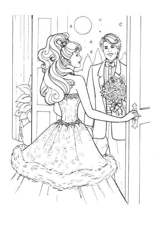 printable Barbie Coloring pages | COLORING PAGES :) | Pinterest ...