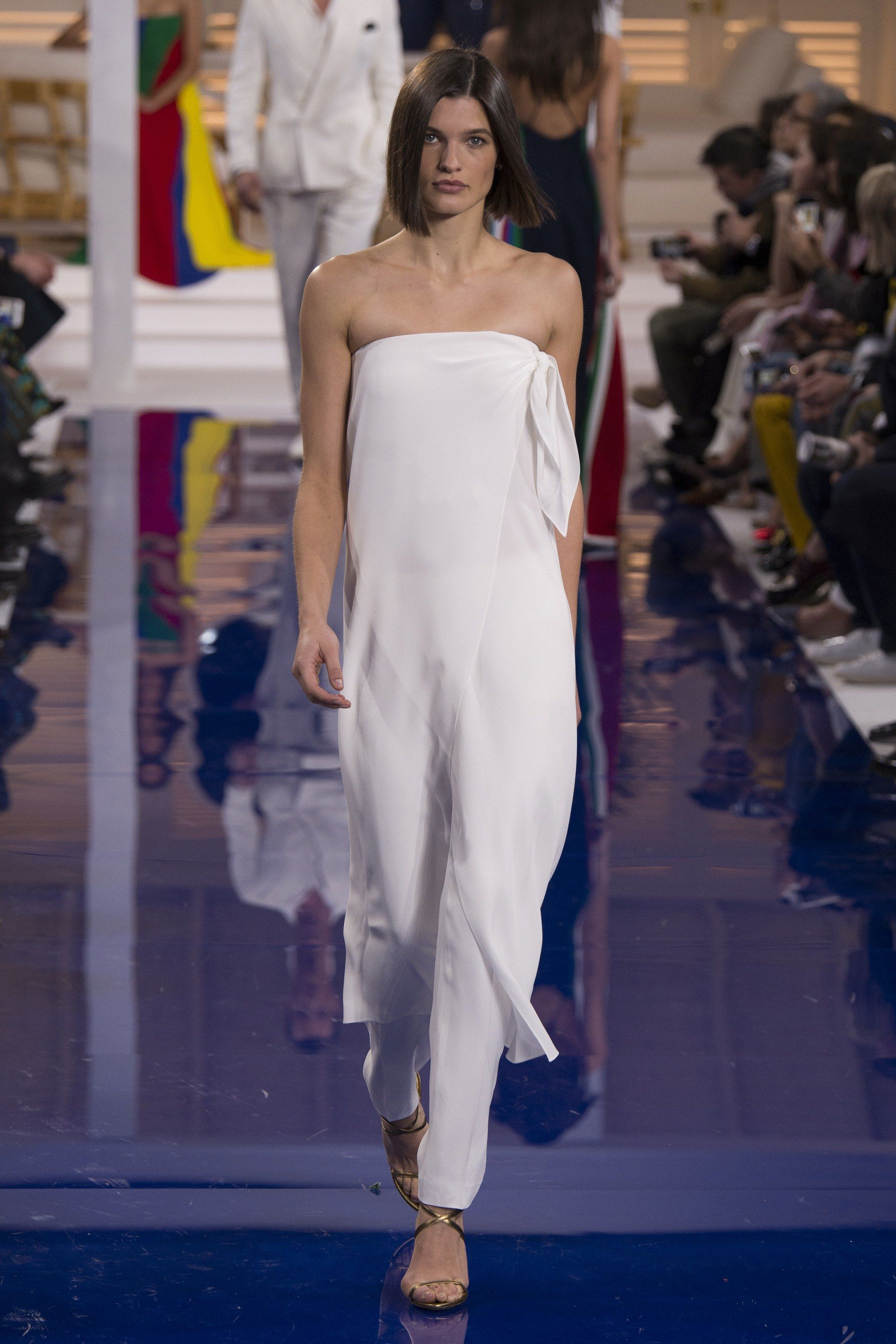 318fba17b5a The complete Ralph Lauren Spring 2018 Ready-to-Wear fashion show now on  Vogue Runway.