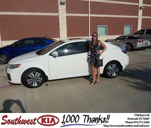 Happy Birthday to Tamisha Carter from Larry Upton and everyone at Southwest KIA Rockwall! #BDay
