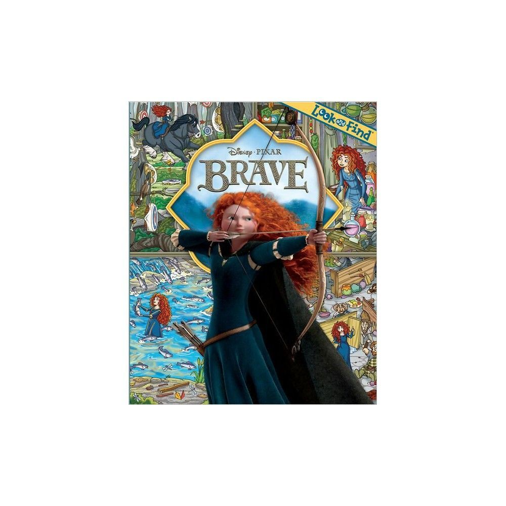 Brave (Look & Find) by Publications International Staff