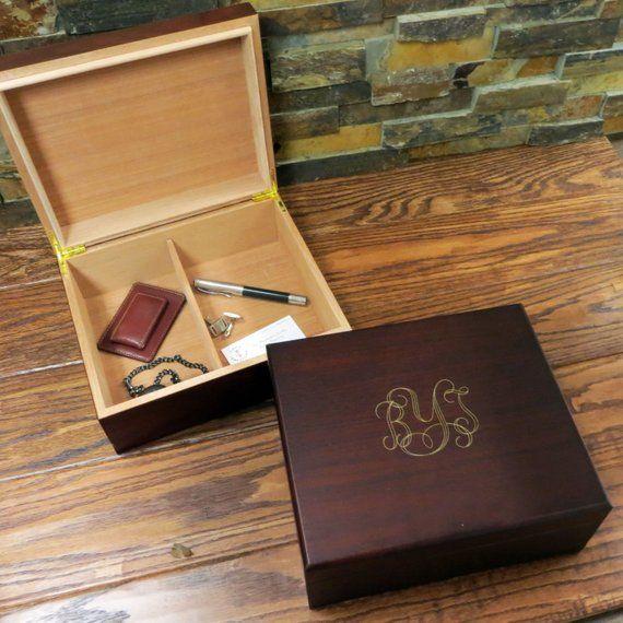 personalized mens keepsake box mans gift father s gift groomsmen