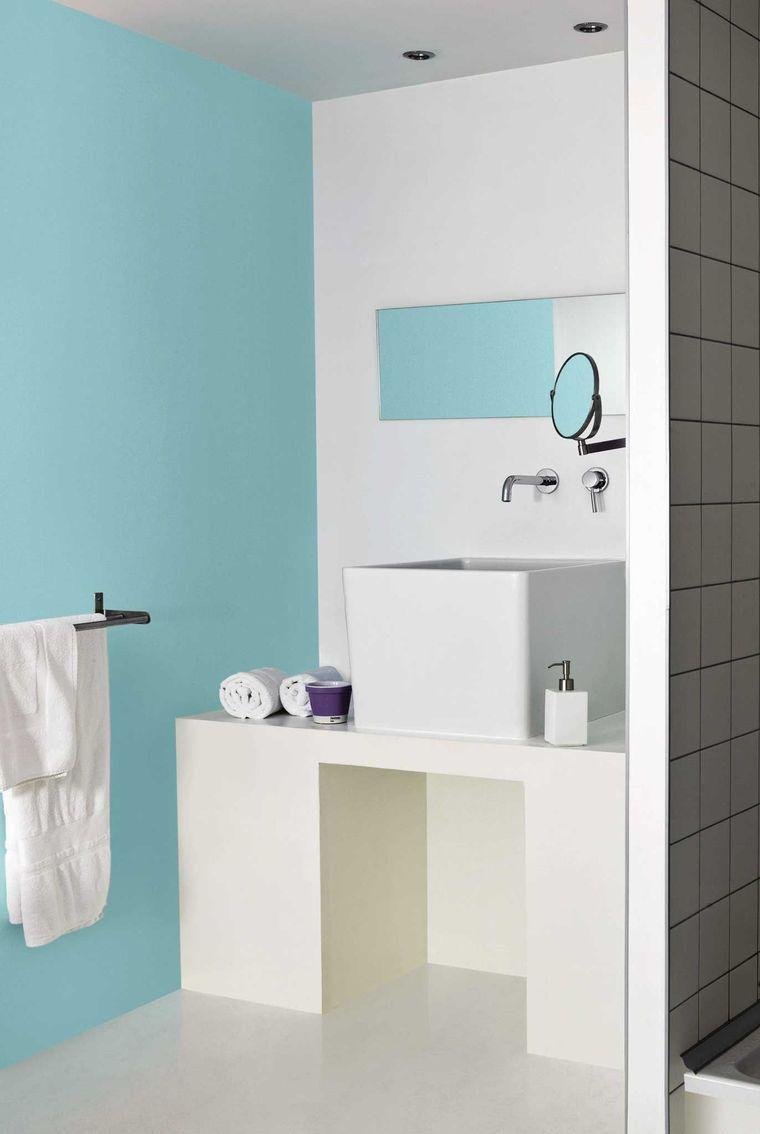 Bon Peinture Pour Carrelage Bleu Pantone 12 4606 Clearwater De Tollens