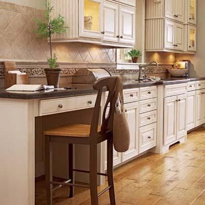 Small and Efficient Kitchen Offices | Workspaces, Kitchen office and on kitchen microwave ideas, kitchen office organization ideas, kitchen space ideas,