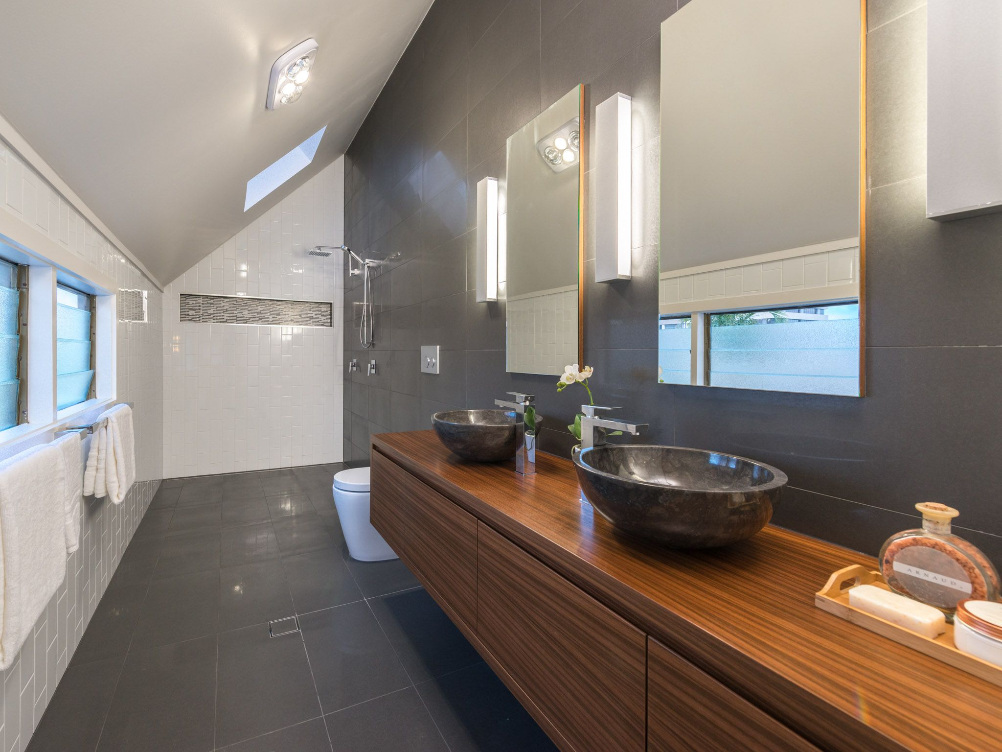 Beautiful Vanity In NAV Enviroven Pecano Veneer By Style Kitchens By Design  QLD   Www.