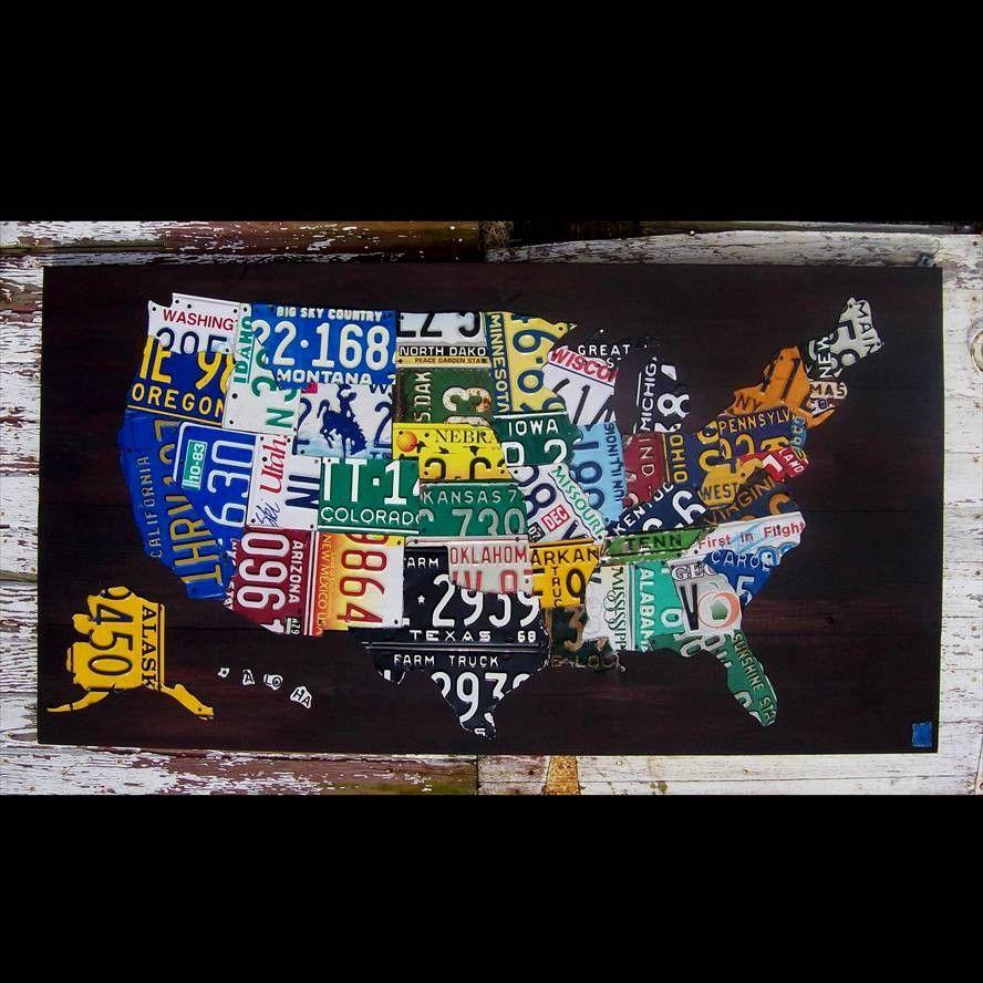 Original United States Map - Adventure Road Trip Hiking ... on state license plates, ohio license plates, preamble license plates, florida license plates, government license plates, germany license plates, pennsylvania license plates, front license plates,