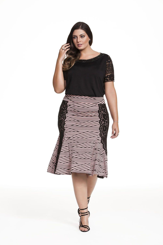 85167734a Plus size - Fascinius Moda Evangélica | Full Figured Fashion ...