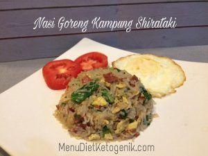Resep Nasi Goreng Kampung Spesial Shirataki Resep Keto