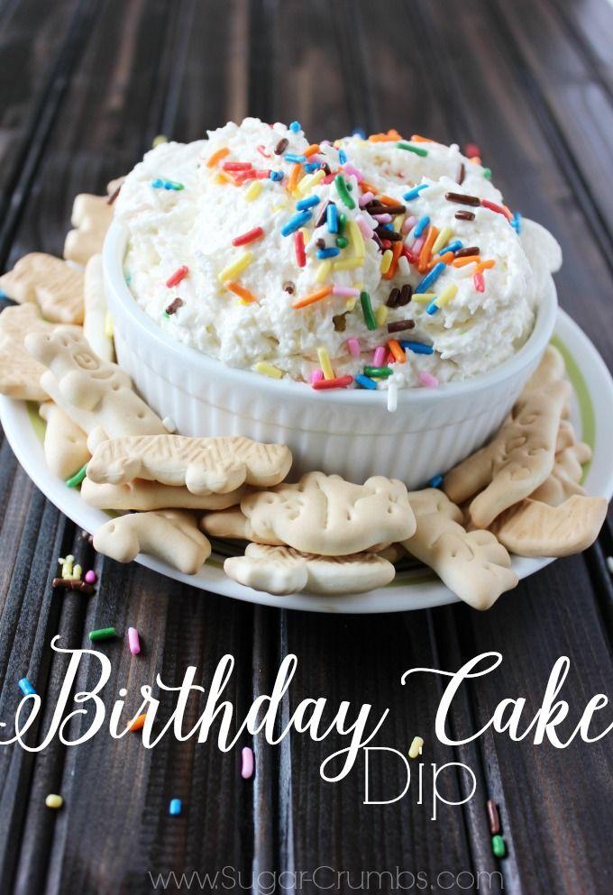 Birthday Cake Dip Clown House Pinterest Birthday cake dip