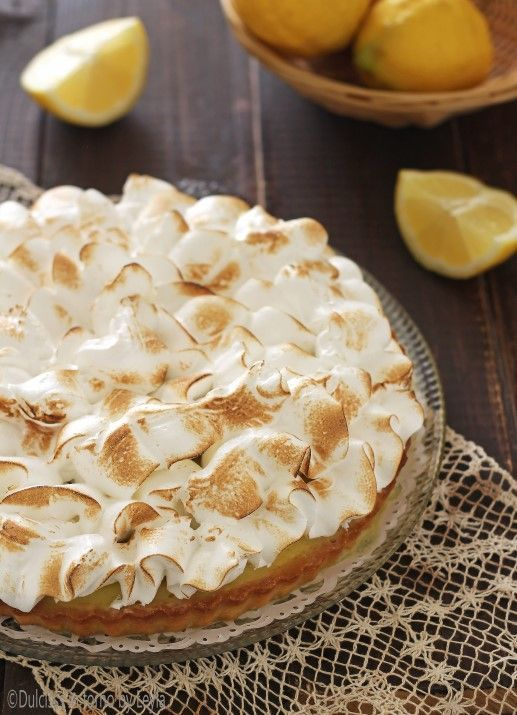 Lemon Meringue Pie di Ernst Knam - Crostata Meringata al limone Lemon Meringue Pie di Ernst Knam - Crostata Meringata al limone Dulcisss in forno by Leyla