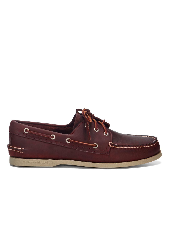 sperry three eye boat shoe