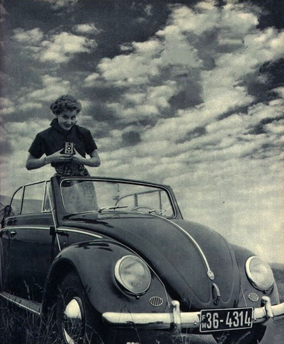 Volkswagen Beetle, 1953. Maintenance/restoration of old/vintage ...