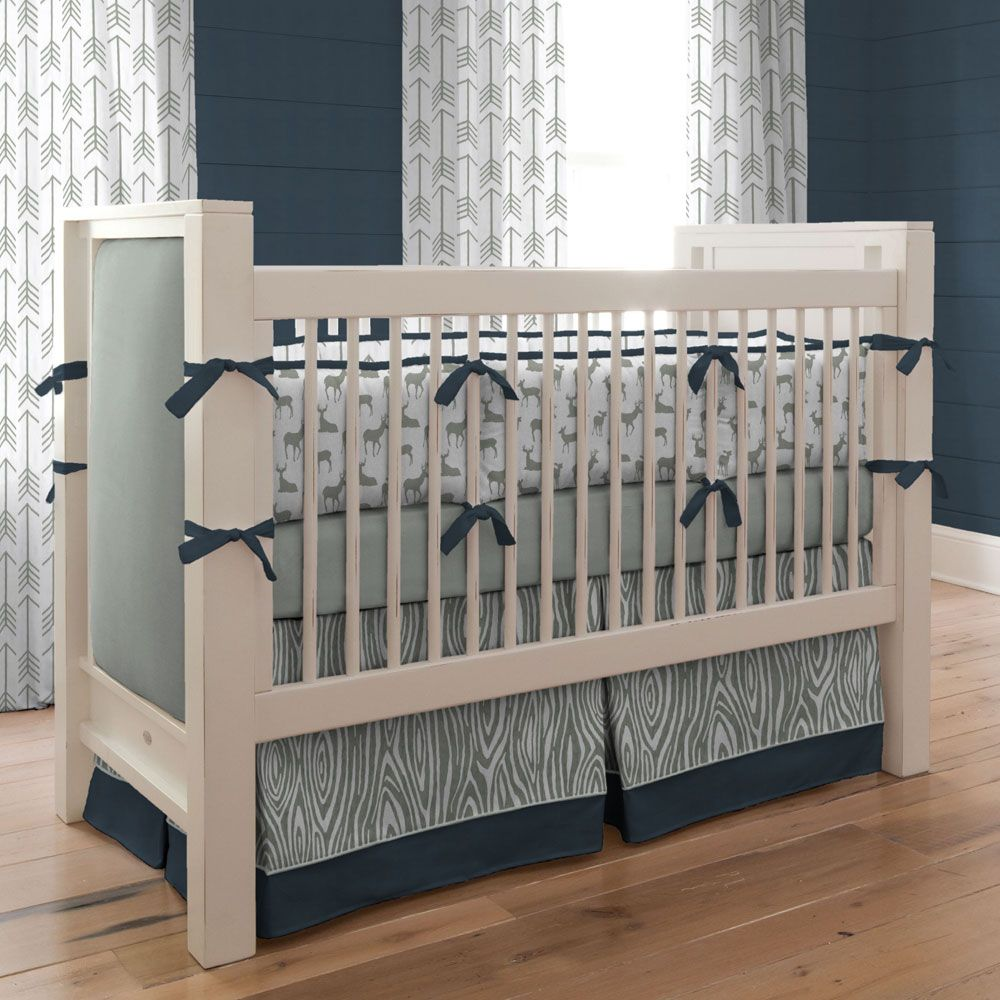 gray boy nursery bedding  thenurseries - boy nursery bedding modern