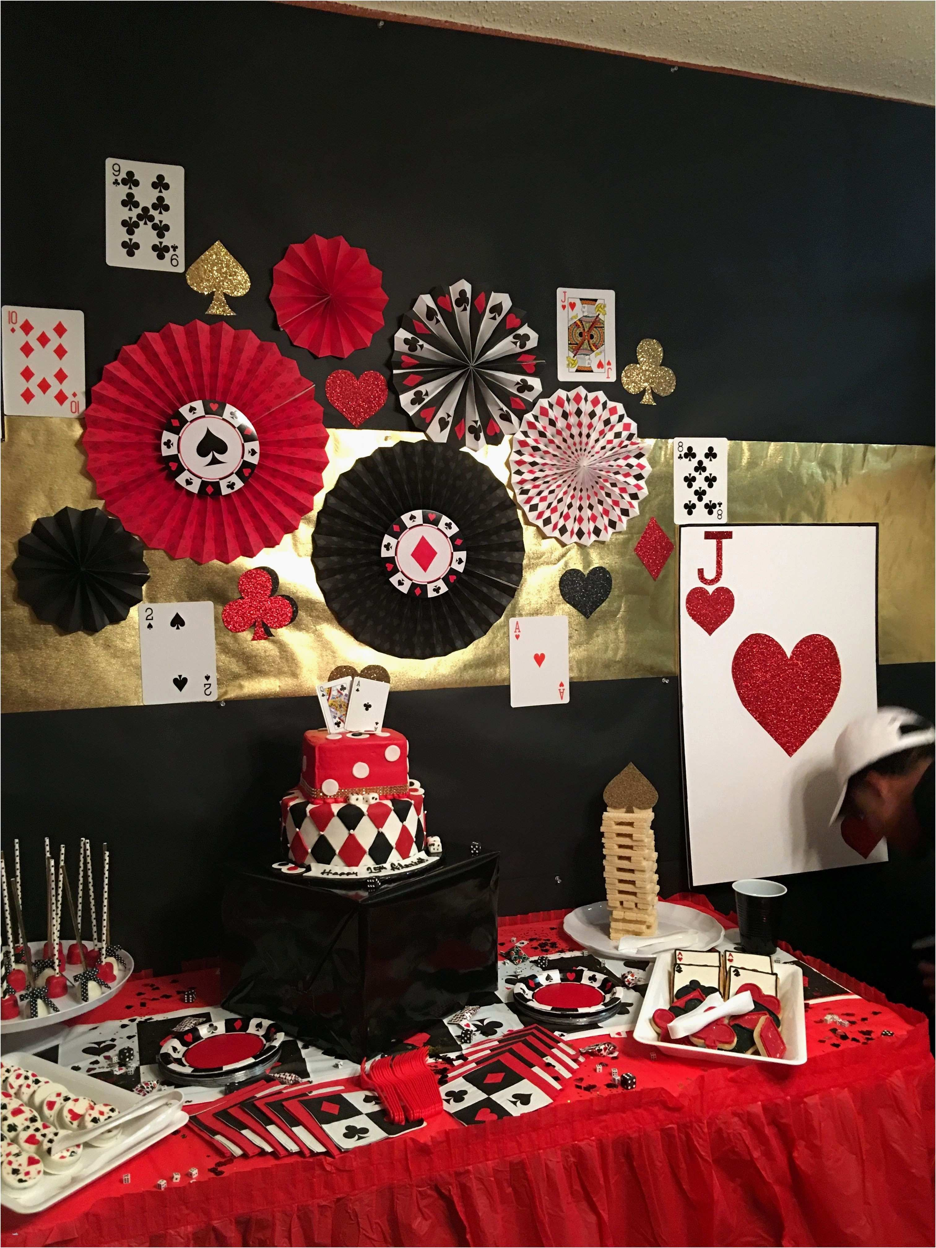 30th Birthday Ideas In Houston Unique 48 Best Poker Party Decorations