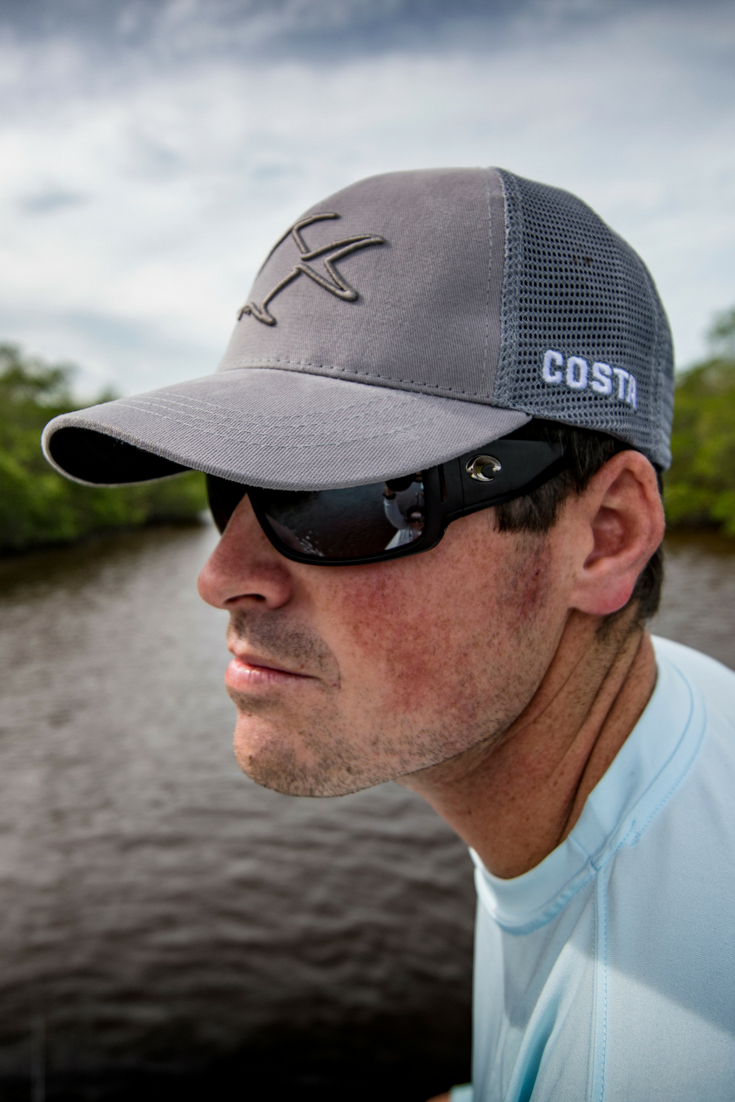 915652216b Get your favorite Costa polarized lenses in new vented style Cape.