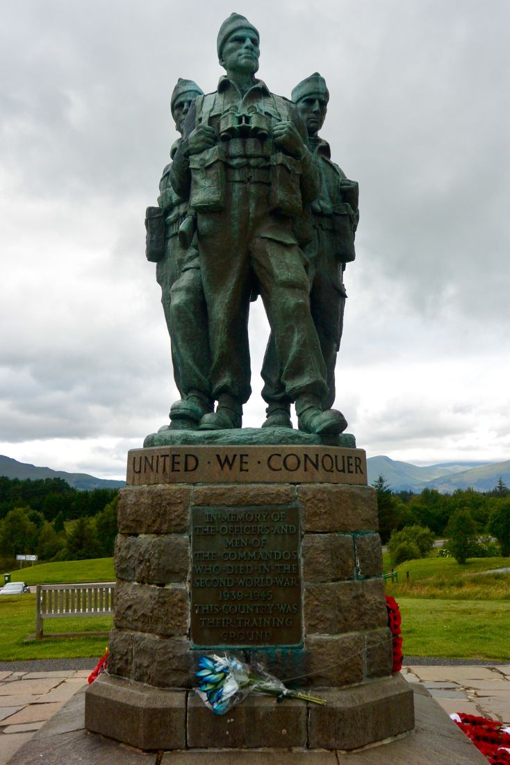 Commando memorial in 2020 commando memories glasgow