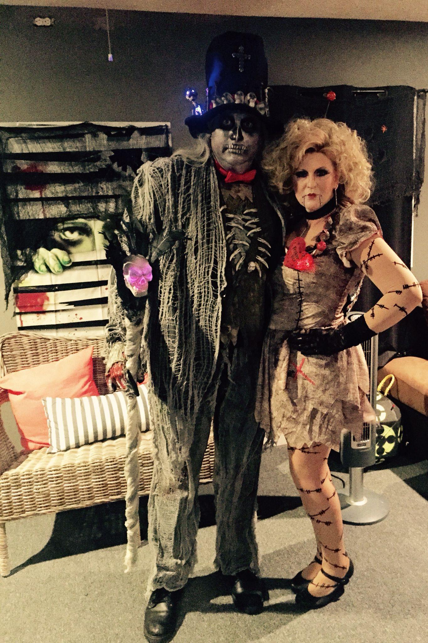 Voodoo Priest & Voodoo Doll costumes … | Witch doctor ...