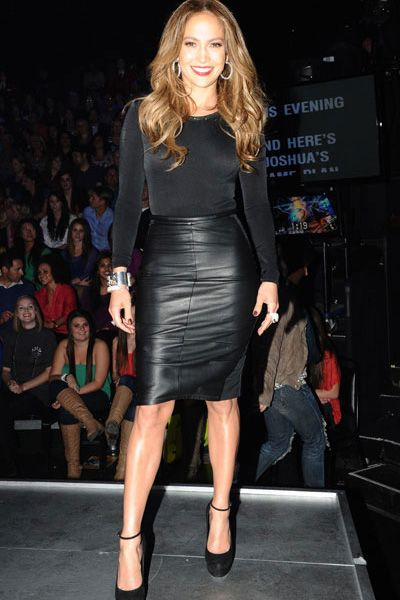 Jennifer Lopez Rocks Her Style On American Idol Fashion