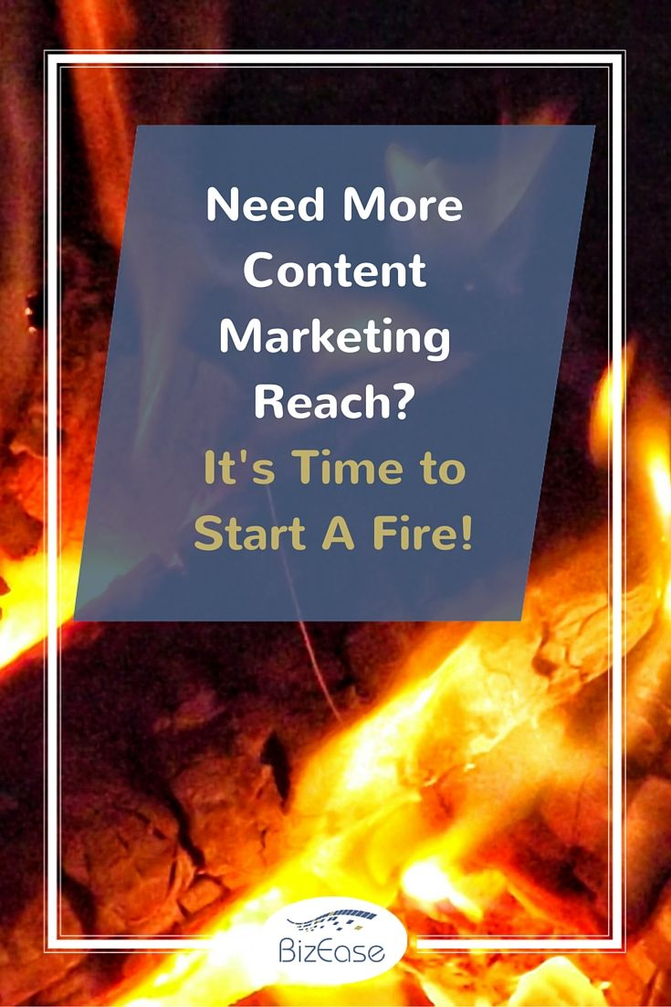 What if you could share the 80% content of the 80/20 rule from other sources in a way that keeps your business in the forefront of your reader's minds? http://www.bizeasesupport.com/need-more-content-marketing-reach/?utm_campaign=coschedule&utm_source=pinterest&utm_medium=Terry%20Green%20-%20BizEase%20Support%20Solutions&utm_content=Need%20More%20Content%20Marketing%20Reach%3F%20It%27s%20Time%20to%20Start%20A%20Fire%21 #BizEase #ContentMarketing