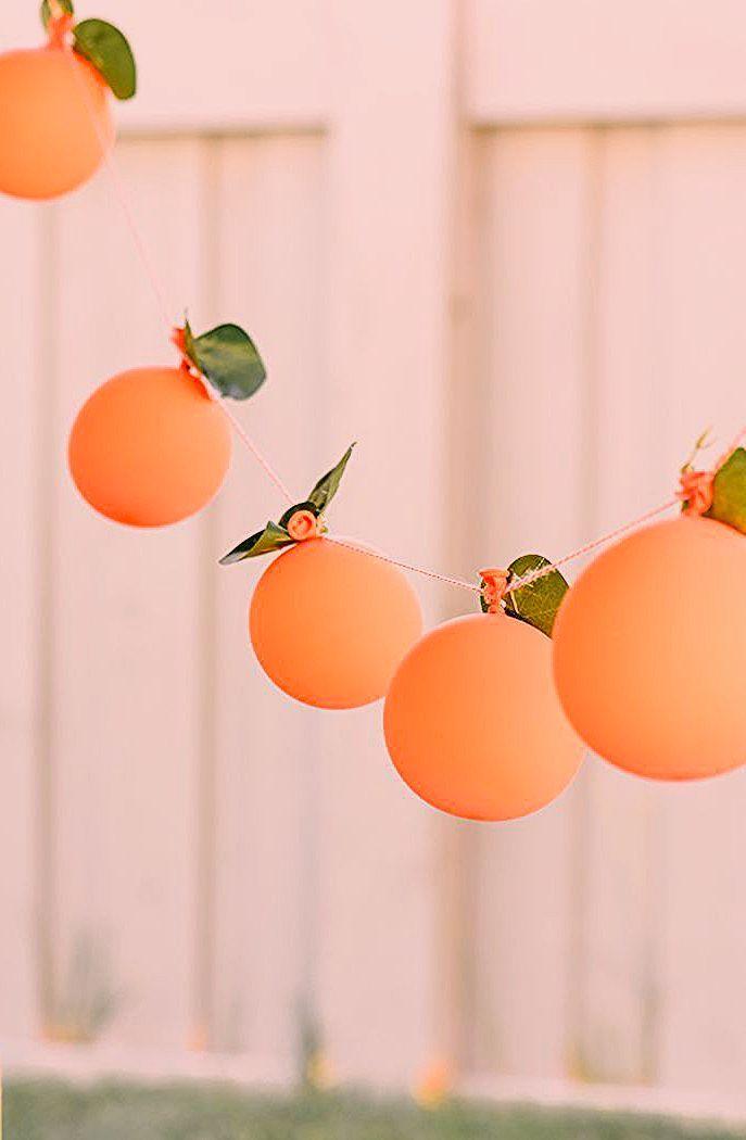 Photo of Peaches and Cream 1st Birthday Party | Kara's Party Ideas