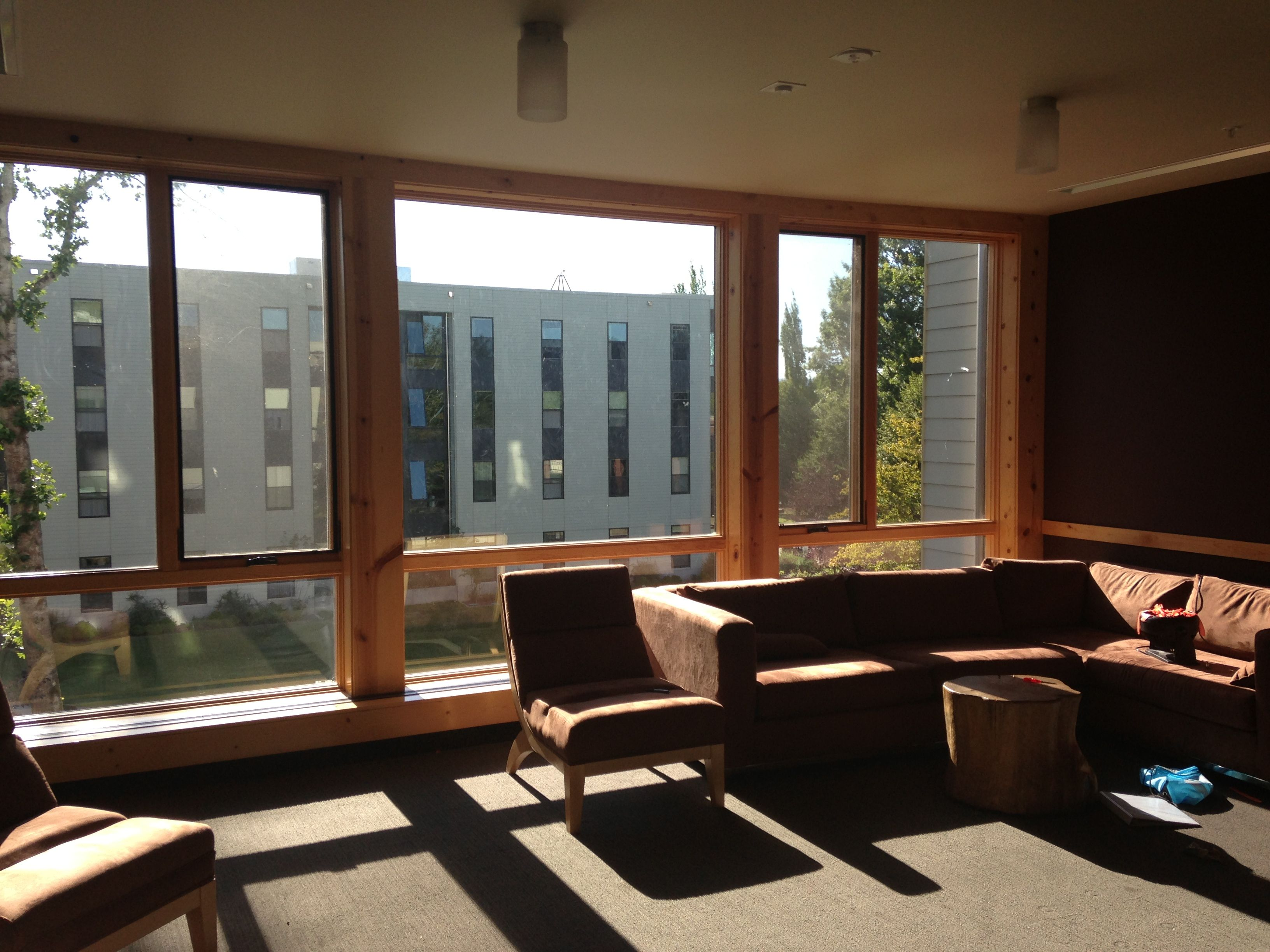 Lounge In A Freshman Dorm At Western Oregon University The School Has 4600 Undergrads