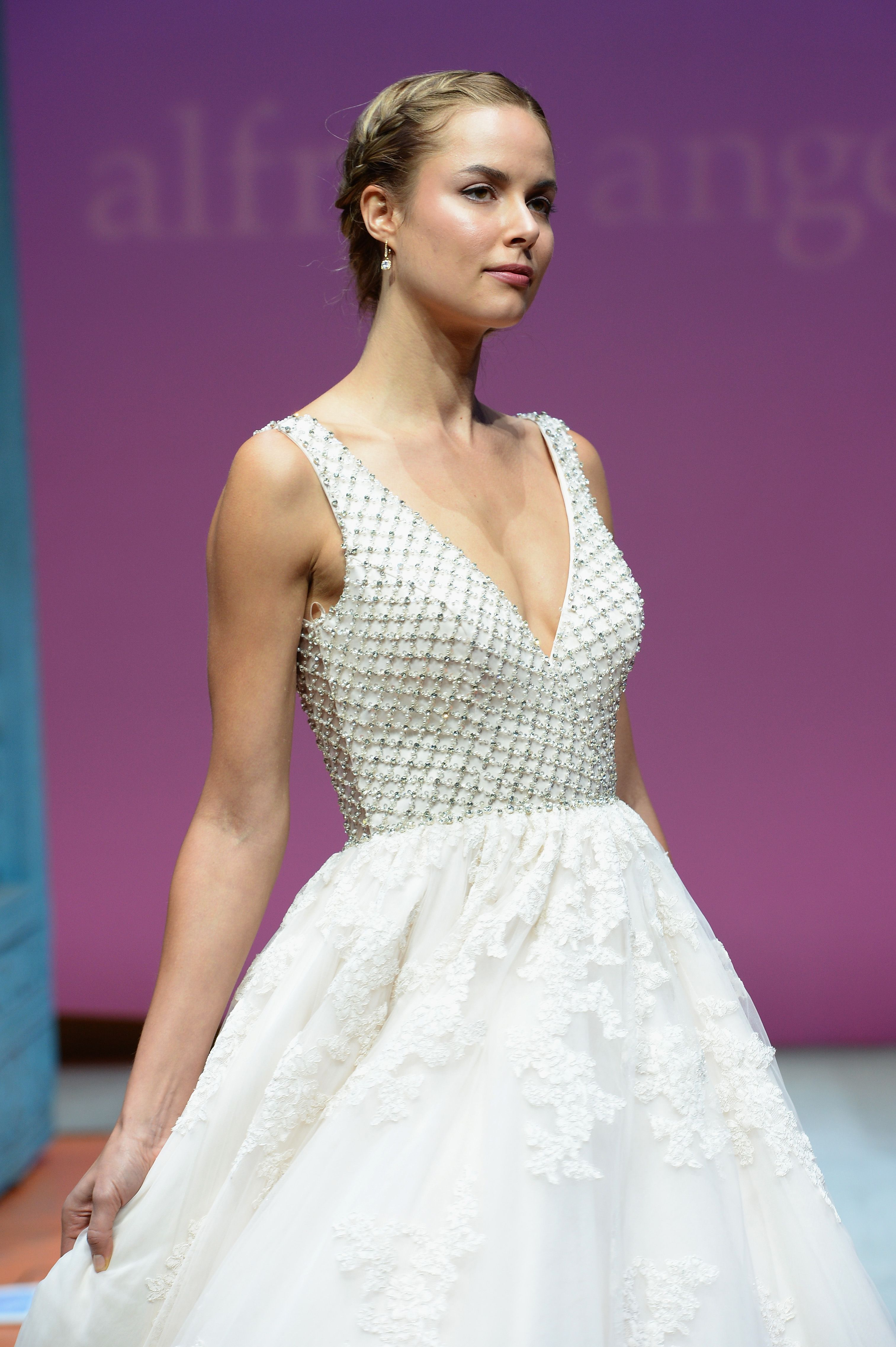 2016 Sapphire by Alfred Angelo Collection The bottom of this | The ...