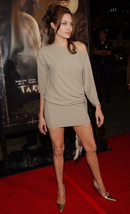 Hermosa Angelina en el año2004.