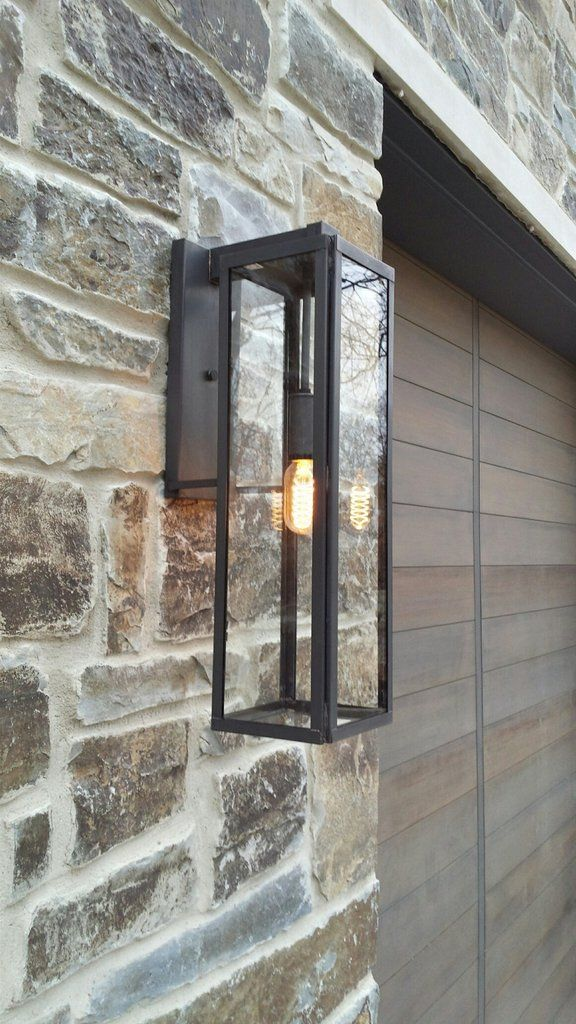 Vista Wall Extra Large Modern Outdoor Lighting Outdoor Light Fixtures Garage Lighting