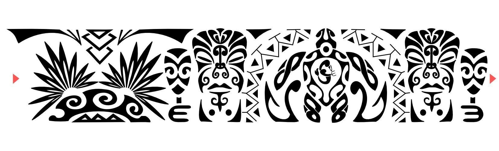 Bracelet Polynésien Tatouage concernant https://www.google.be/search?q=tattoo symboles maori | polynesien