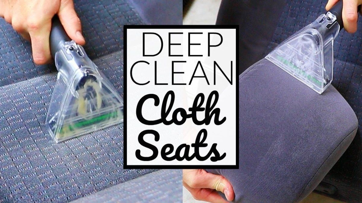 HOW TO Deep CLEAN Cloth Car Seats Car Interior Detailing