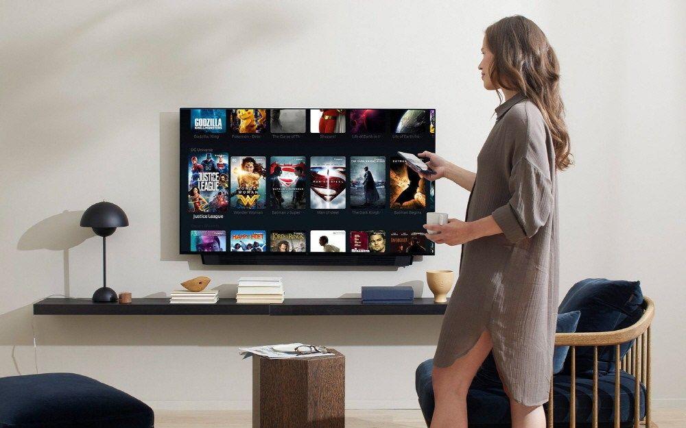 中 원플러스가 발표한 스마트tv 테크레시피 スマートテレビ 室内 スマート