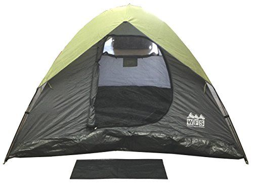 World Famous Sports 3 Person Square Dome Tent 8x8x54 u003eu003eu003e Check out this great  sc 1 st  Pinterest & World Famous Sports 3 Person Square Dome Tent 8x8x54 u003eu003eu003e Check out ...
