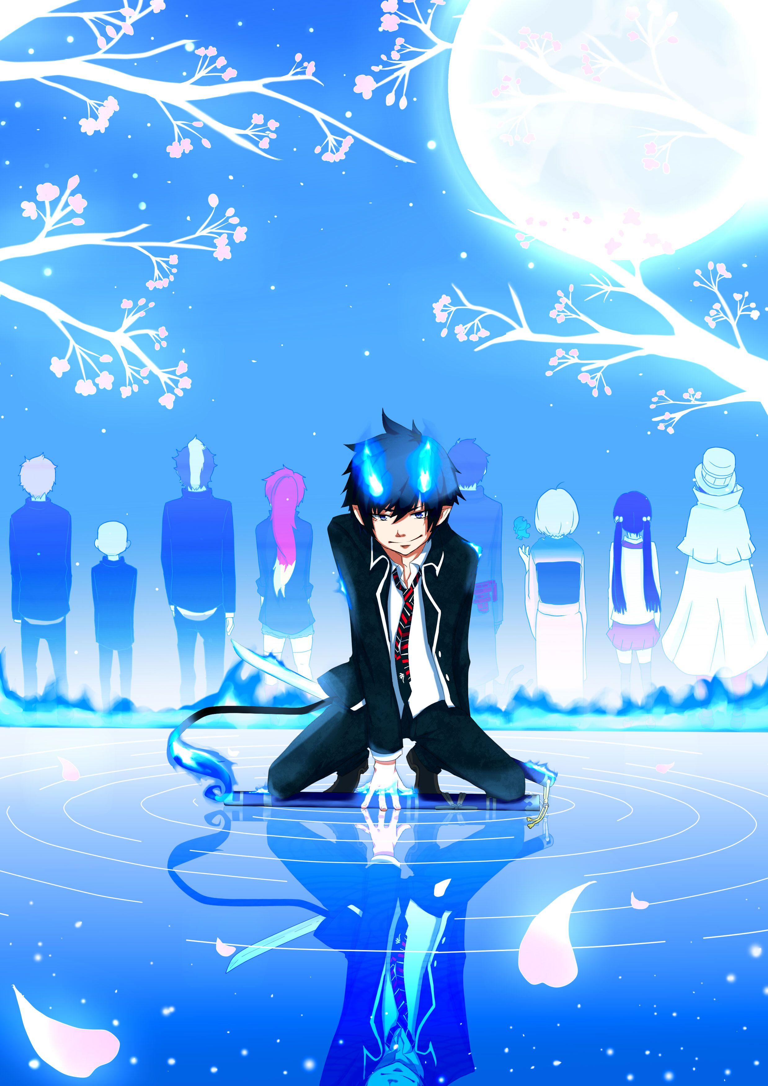 Blue Exorcist Blue exorcist anime